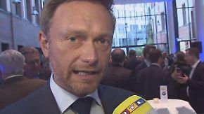 """Christian Lindner im n-tv Interview: """"Die CDU will nichts, die SPD macht Agenda 1995"""""""