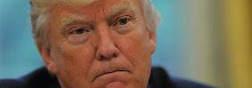 """100 Tage Trump: """"Ich dachte, es wäre leichter"""""""