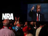 """""""Ihr seid meine Freunde"""": Trump verzückt Amerikas Waffenlobby"""
