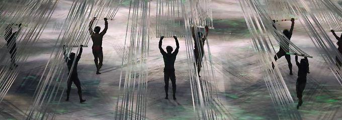 Die Eröffnungsfeier der Olympiade in Rio 2016. Diese Woche könnte sich auch hinziehen.