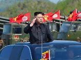 Kim Jong Un reizt den großen Nachbarn.