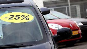 Dieselprämie und Neuwagen-Rabatt: Viele Autoverkäufer verwehren doppelten Preisnachlass