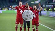 Der FC Bayern ist wieder deutscher Fußballmeister, …