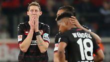 """Eine """"verfluchte Saison"""": Bayer Leverkusen taumelt zum Super-Gau"""