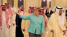 Merkel in Saudi-Arabien: Keine Waffen, dafür mehr Menschenrechte