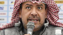 """Energisch jedes Fehlverhalten bestreiten"": Ahmad Al-Fahad Al-Sabah."