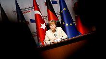 """""""Frei"""" trotz Flüchtlingsdeal: Merkel weist Türkei-Vorwurf zurück"""