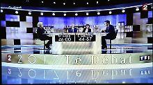 Geschrei und ein klarer Sieger: Die große Show von Le Pen und Macron