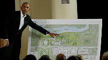 Bibliothek in Chicago: Obama setzt sich Millionen-Denkmal