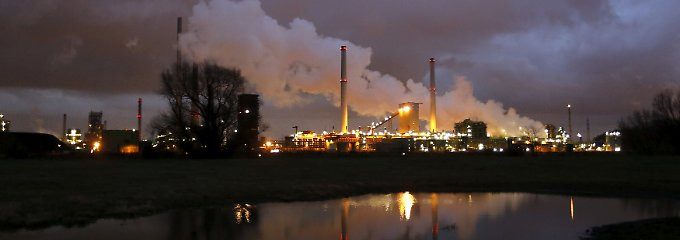 Stahlwerk von Thyssenkrupp in Duisburg.