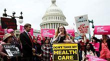Seit Monaten wird in den USA um die Reform von Obamacare gestritten.