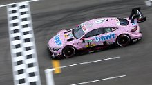 Mercedes-Pilot Lucas Auer hat das erste Rennen der neuen DTM-Saison in Hockenheim gewonnen.