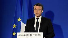 """""""Ich kenne die Wut"""": Macron will Frankreich wieder einen"""