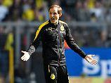BVB-Trainer Thomas Tuchel versteht die Dortmunder Fußballwelt nicht mehr.