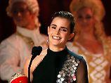 MTV-Awards verliehen: Emma Watson ist die Beste