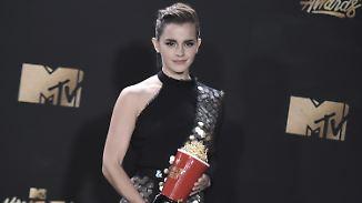 Botschaft gegen Sexismus: Emma Watson räumt bei MTV-Awards ab