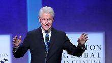 Ex-Präsident schreibt Thriller: Clinton fantasiert von Drama im Weißen Haus