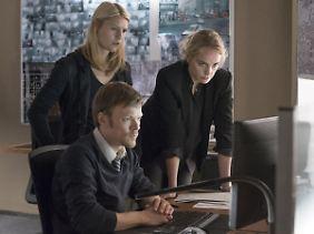 """Nina Hoss an der Seite von Hauptdarstellerin Claire Danes in Staffel fünf von """"Homeland""""."""
