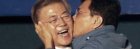 Moon wird Präsident Südkoreas: Der letzte Mann mit weißer Weste übernimmt