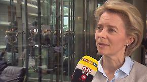 """Von der Leyen zum Bundeswehrskandal: """"Gesamtverantwortung liegt bei mir"""""""