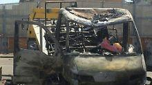 Anschlag auf Roma-Großfamilie: Schwestern verbrennen im Wohnwagen