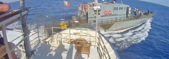 Bergung von Bootsflüchtlingen: Deutsche Retter und Libyens Küstenwache rasseln aneinander