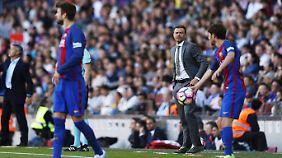 Wer macht's? Mit dem Abgang von Luis Enrique wird der Posten als Cheftrainer bei Barca vakant.