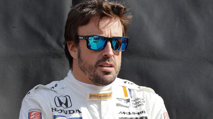 Statt beim Formel-1-Rennen in Monte Carlo wird Fernando Alonso in den USA starten.