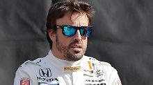 Formel-1-Frust und IndyCar-Lust: McLaren hält Diva Alonso bei Laune