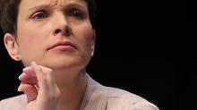 Lukrativer Posten ohne Einfluss: AfD will Petry als Bundestags-Vize sehen