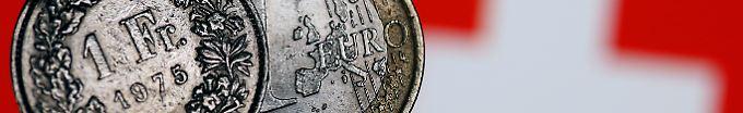 Der Börsen-Tag: 15:31 Nach Ende der Untergrenze - Euro auf Höchststand zum Franken