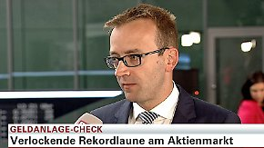 Geldanlage-Check: Christian Kahler, DZ Bank