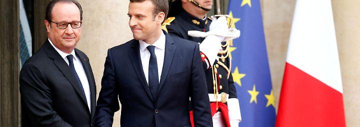 Macron übernimmt Amtsgeschäfte: Bienvenue, Monsieur le Président!