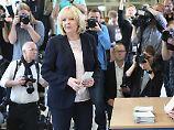 Hohe Wahlbeteiligung im Westen: NRW-Wähler strömen zur Stimmabgabe