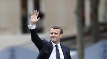 Erst Mitte Mai trat Emmanuel Macron sein Amt an - nun folgt bereits der erste Stimmungstest.