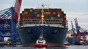 """""""MOL Triumph"""" auf Jungfernfahrt: Riesiges Containerschiff legt in Hamburg an"""