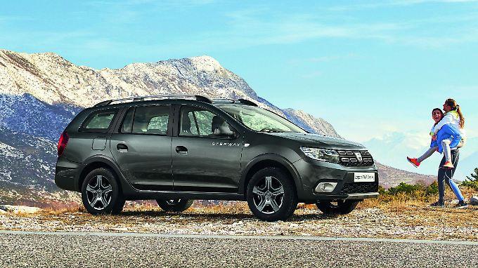 Der Dacia Logan MCV Stepway gibt den praktischen Offroad-Kombi.