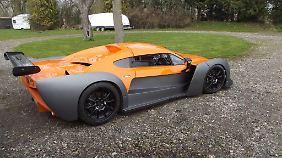 Der bisher gezeigte Prototyp des Exile wird von einem 3,5-Liter-V6-Turbobenziner aus dem Ford F-150 Raptor angetrieben.