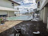 Folgen eines Hurricans in Florida