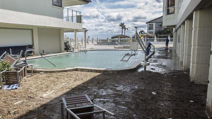 Nach einem Hurrikan in Florida: Wird der Urlaubsort von einem Unwetter heimgesucht, muss der Reiseveranstalter die Rückreise sicherstellen.