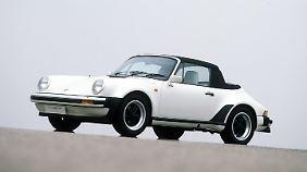 Porsche 911 Turbo Cabriolet Studie, 1981.