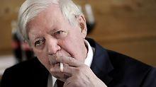 Jahrzehnte alt und von Scheel: Schmidts Zigarettenetui erzielt Rekordpreis