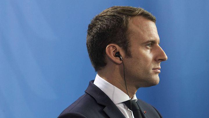 Macron stellt hohe Ansprüche an seine Minister.