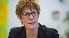Saarland-Koalition steht: Kramp-Karrenbauer bleibt Landeschefin