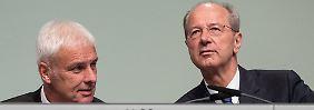 Verdacht der Marktmanipulation: Staatsanwaltschaft ermittelt gegen VW-Chef