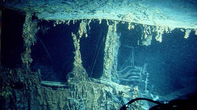 """In 20 Jahren komplett verschwunden?: Bakterien zerfressen Wrack der """"Titanic"""""""
