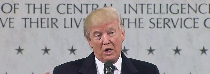 Attacken gegen US-Geheimdienste: Trump kann den Kampf nicht gewinnen