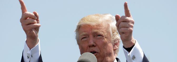 """Trump feiert 100-Tage-Jubiläum: """"Ich dachte, es wäre einfacher"""""""