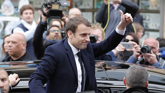 Der Kampf für mehr Beschäftigung ist eine der wichtigsten Aufgaben für Macron.