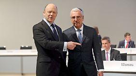 Raus aus der Krise: Bei der Deutschen Bank wächst die Zuversicht